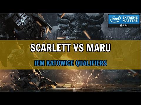 Scarlett vs Maru - ZvT - IEM Katowice 2017 Korean Server Qualifier