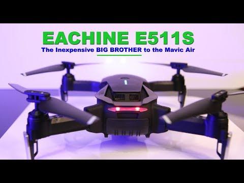 The EACHINE E511S GPS DRONE - Much quieter than the MAVIC AIR!
