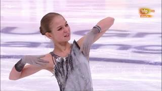 Alexandra TRUSOVA. GP Russia 2019, SP 2