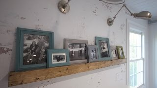 Picture Ledge - Distressed Wood Beam