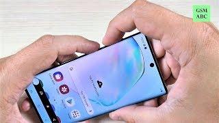 sCREENSHOT Samsung Galaxy Note 10 & 10 Plus