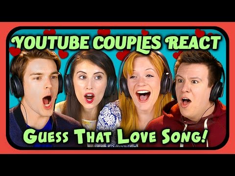 Thumbnail: YOUTUBE COUPLES REACT TO GUESS THAT SONG CHALLENGE (Love Songs)