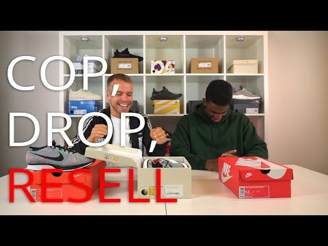 Cop, Drop, Resell - Ep.6 - GEORGE GETS TRICKED!!