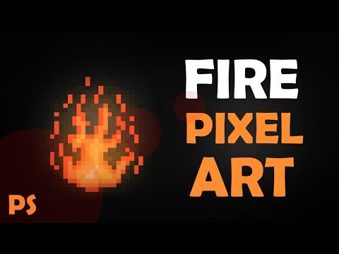 FIRE & EXPLOSIONS PIXEL ART GAME EFFECTS - PS TUTORIAL