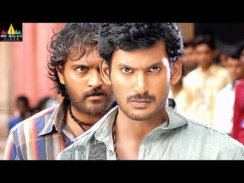 Vishal Action Scenes Vol 01   Back to Back Action Scenes   Sri Balaji Video