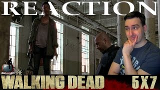 The Walking Dead S05E07 'Crossed' Reaction / Review