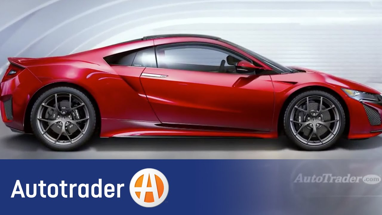 Acura NSX | 2015 Detroit Auto Show | Autotrader - YouTube