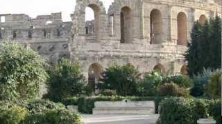 TUNISIA:  EL DJEM - CARTAGINE - SIDI BOU SAID تونس سيدي بو سعيد   [HD]