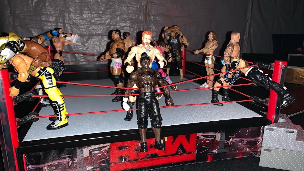 WWE RAW Sweet 16 BATTLE  ROYAL -  Riddle, Lee, Priest, Mcintyre, Orton, Viking Raiders and more