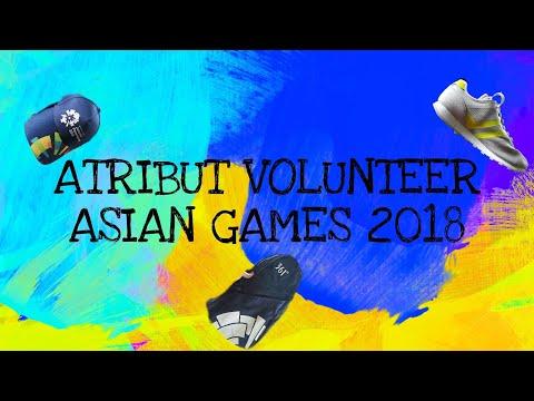 UNBOXING SERAGAM VOLUNTEER ASIAN GAMES 2018 (LIAISON OFFICER)