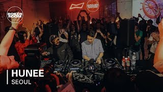 Hunee Boiler Room BUDx Seoul DJ Set