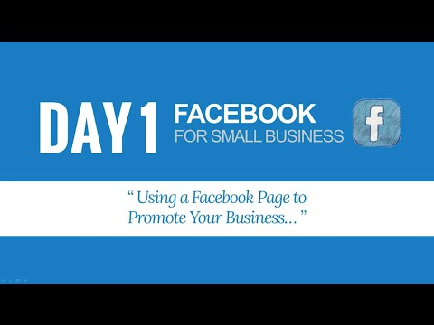 Social Media Marketing (USA) Day 1 - Facebook