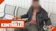 Betrunkener S*xualtäter am Bahnhof: Lässt die Polizei ihn laufen?   Achtung Kontrolle   Kabel Eins