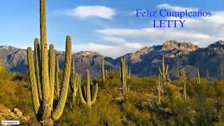 Letty  Nature & Naturaleza - Happy Birthday