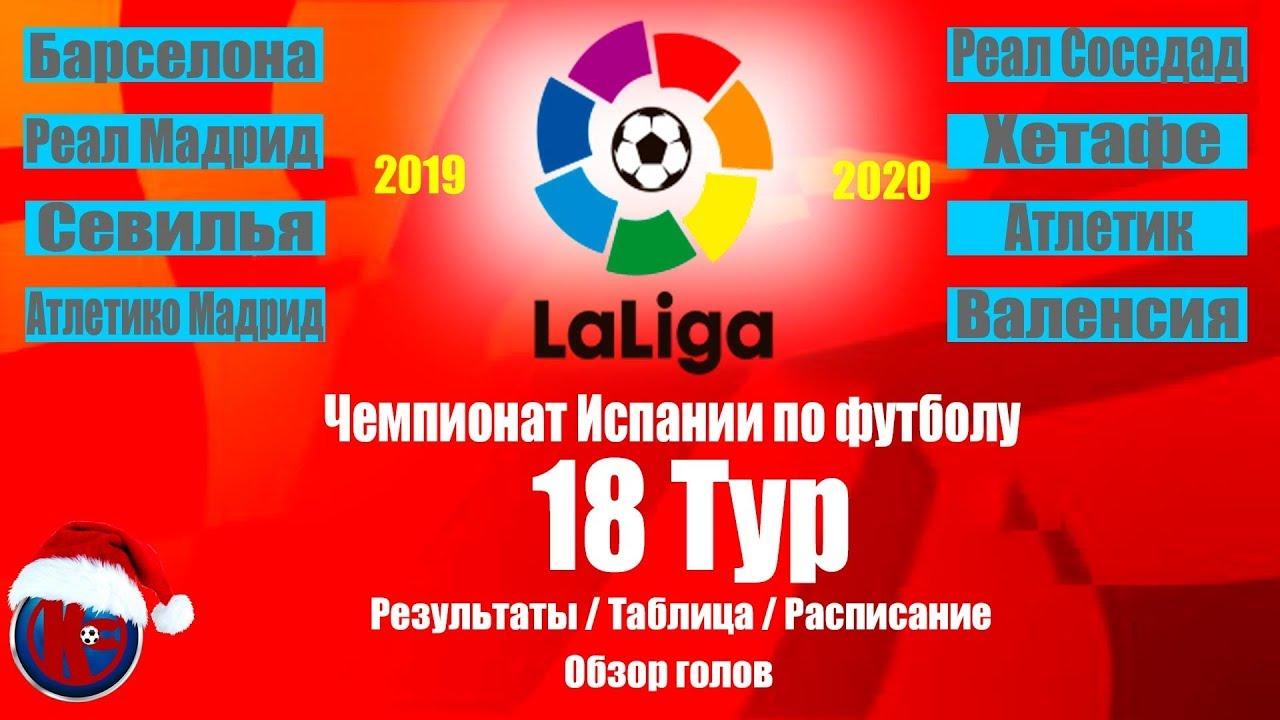 Чемпионат испании по футболу 13 тур