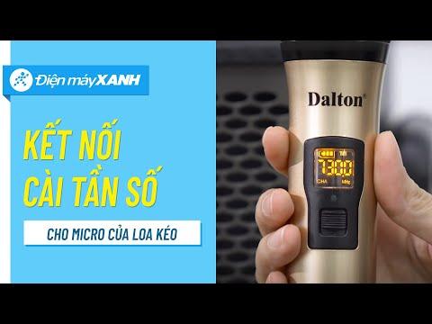 Cách Kết Nối Và Cài đặt Lại Tần Số Cho Micro Loa Kéo Karaoke | Điện Máy XANH