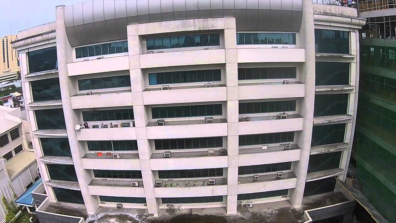 Aerial view of Perpetual Succour Hospital