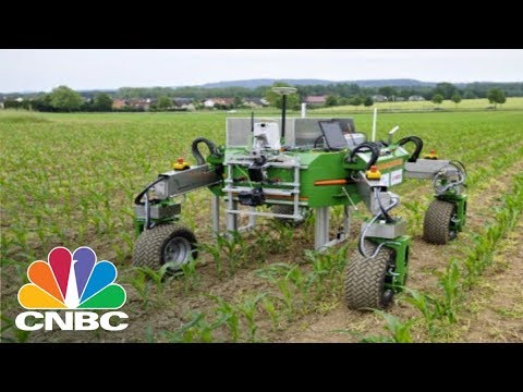 How Robots Are Changing The Farming Industry   CNBC