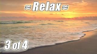 RELAXING VIDEO #3 BEST FLORIDA BEACHES Ocean Wave Sounds Nature Waves relaxing sleep relax HD