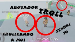 Dragon ball Rage roblox trolleo [Mui]