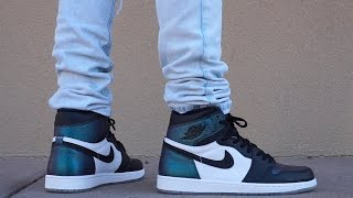 AIR JORDAN 1 ALL STAR/CHAMELEON REVIEW!  UP CLOSE/ON FOOT !!!