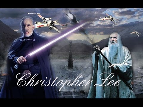 Christopher Lee - Saruman/Count Dooku - YouTube
