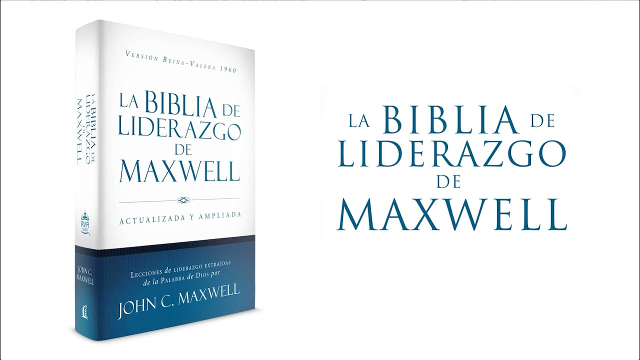 Mensaje Del Dr John Maxwell Para El Lector De La Biblia Youtube