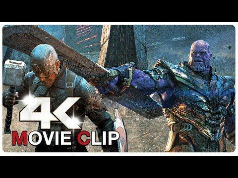 Avengers Vs Thanos - Final Fight Scene - Avengers Assemble - AVENGERS 4 ENDGAME (2019) Movie CLIP 4K