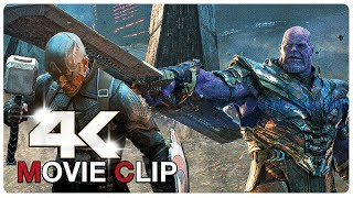 Avengers Vs Thanos - Final Fight Scene - Avengers Assemble - AVENGERS 4 ENDGAME (2019) Movie CLIP 4K