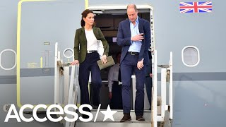 Duchess Kate Middleton Wears Suit Pants For The First Time In Public! | Access