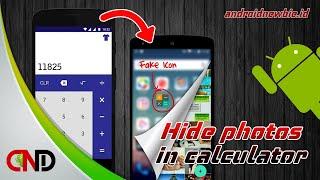 Trik Rahasia Sembunyikan Foto atau Video dalam Kalkulator Android