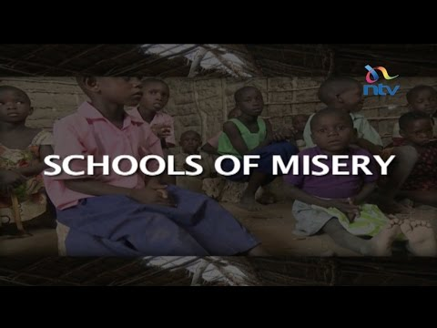 Schools of Misery: Kilifi pupils who use stones and logs as desks