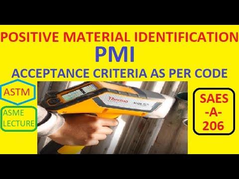PMI Positive Material Identification [Hindi/English]