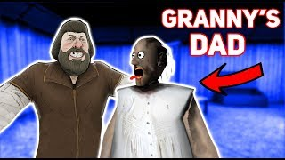Granny Has A VERY WEIRD DAD!?!?! | Granny The Mobile Horror Game (Knock Offs/Rip Offs)