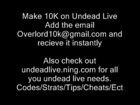 Undead Live Codes!! Overlord, Vampire, Werewolf!! Add Yours