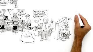 RSA Animate - Dave Coplin: Reimagining Work (Microsoft) - A Cognitive Whiteboard Animation