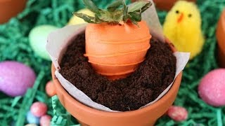 Chocolate Mousse Pots With Strawberry Carrots - Gemma's Bigger Bolder Baking Ep 9