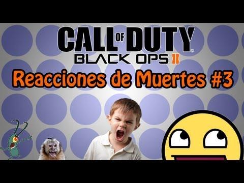 Black Ops 2 | Reacciones De Muertes #3 | Tj Evolution