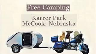 Free Camping: Karrer Park McCook Nebraska