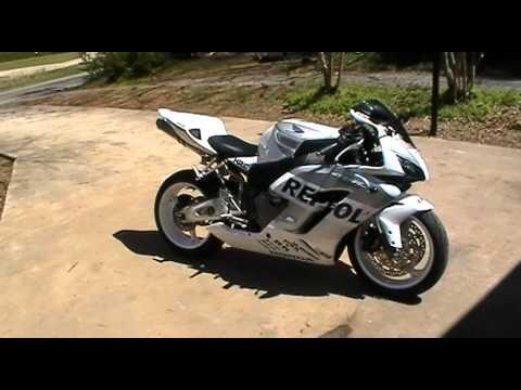 White Repsol Cbr1000rr 2004 Youtube