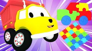 Ethan der Kipplaster lernt Farben mit Puzzle - Ethan der Kipplaster 🚚 Lehrreiche Cartoons für Kinder