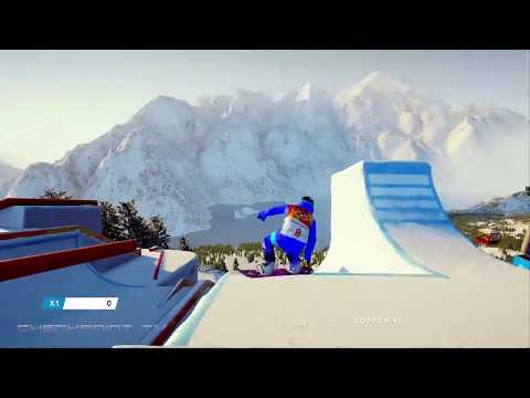 Steep Road To The Olympics - Korea - Slope Style Gameplay