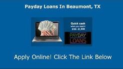 Payday Loans Beaumont, TX | Online Cash Advance