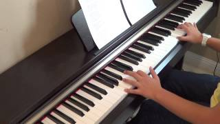 One Direction - Irresistible piano cover and lyrics by Betty Nguyen