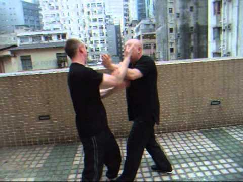 AFS Wing Chun - Chi Sau with Paul Wallis & Sifu Paul O'Neal in Hong Kong Part1