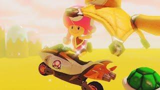 Mario Kart 8 Deluxe - Mushroom Cup 100cc (Toadette Gameplay)