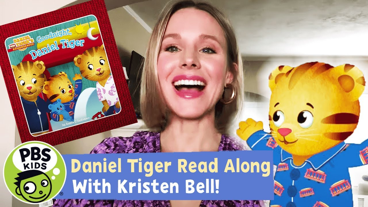 READ ALONG with KRISTEN BELL! | Goodnight, Daniel
