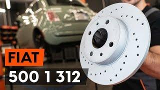Τοποθέτησης Δισκόπλακα πίσω και μπροστινα FIAT 500 (312): δωρεάν βίντεο