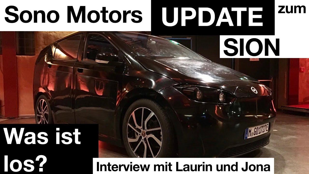 Update zum Sion! Was ist los bei Sono Motors? Interview mit Laurin und Jona