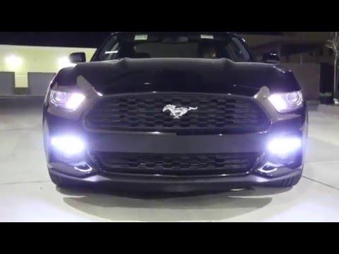 Ijdmtoy Ford Mustang Led Daytime Running Lights Turn